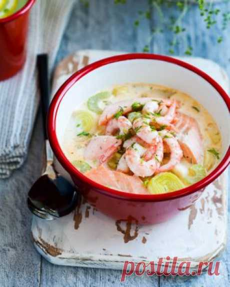 Скандинавский сливочный суп