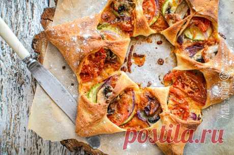 Овощная пицца-венок (рецепт из моей книги) • Жизнь - вкусная! Кулинарный сайт Галины Артеменко Овощная пицца очень многолика и прекрасна: в начинку для нее используйте то, что есть у вас в наличии. И она никогда вам не надоест - она всегда разная!