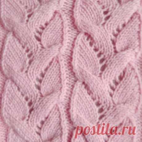 Эффектный узор для женских пуловеров, жакетов и джемперов (Вязание спицами) – Журнал Вдохновение Рукодельницы