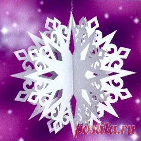 Volume snowflake - a template
