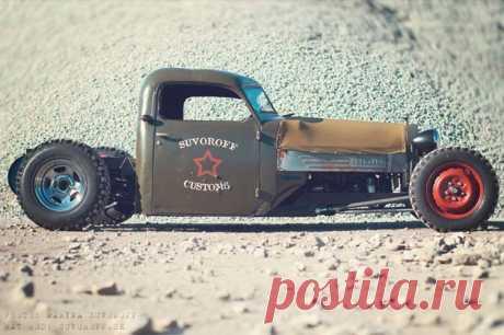 Авто самоделка RAT ROD Military Truck: фото и описание самоделки