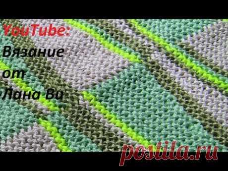 Вязание спицами: соединительные швы - 5 МК. Топ-майка спицами, невидимый и матрасный шов