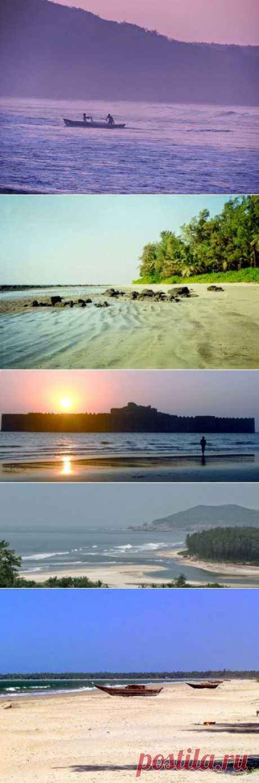 InVkus: Лучшие пляжи от Мумбаи до Гоа. Большинство туристов предпочитают пляжный отдых, и большинство из них, кто любит отдыхать в Индии, скажут, что лучше пляжей Гоа не найти - шелковистый песок, ласковое море, пальмы, целующие облака, и полная безмятежность. Стоит принять во внимание факт, что 550-километровый участок побережья от Мумбаи до Гоа - отнюдь не безжизненное место. Здесь есть мало известные пляжи, куда не добрались толпы отдыхающих.