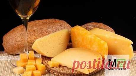 Домашний сыр твердого сорта - кулинарный рецепт. Миллион Меню