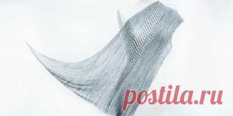 Связать легко шаль Ardent Как связать легко шаль спицами Ardent. Как взять один моток пряжи и связать легко красивую модную шаль? С описанием от дизайнера Янины Каллио это просто и для начинающих.