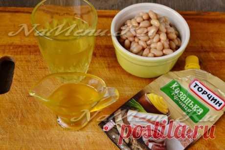 Соус из белой фасоли, почти как майонез, рецепт в домашних условиях