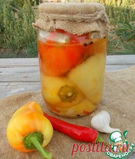 Жареный перец в маринаде - кулинарный рецепт