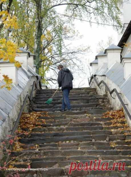 Святогорский монастырь.Автор фото: Юлия Маслова