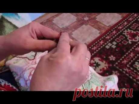 Вязание спицами интересным способом