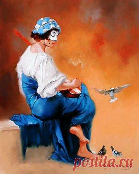 Жорж Короминас: современный популярный художник   Открытое Общество Флудилка