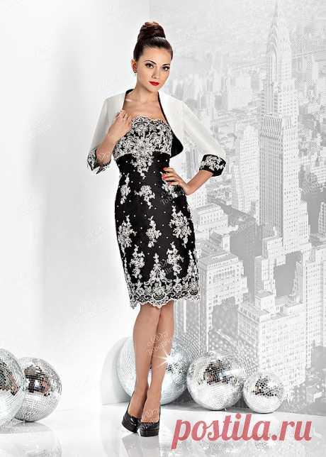 Вечернее платье C0254B, www.colors-of-life.ru,