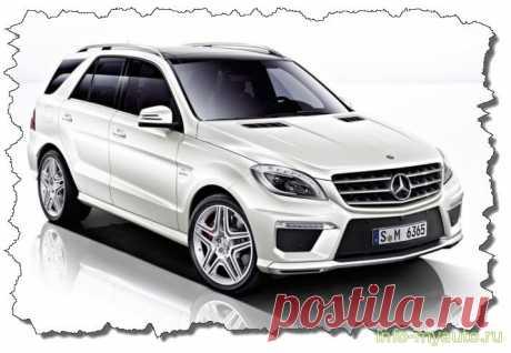 Сигнализация на Mercedes ML 166