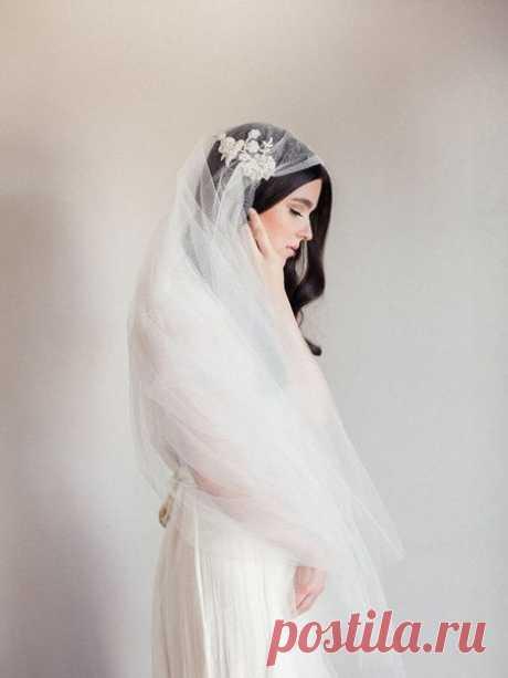 Фата для невесты в винтажном стиле ❤