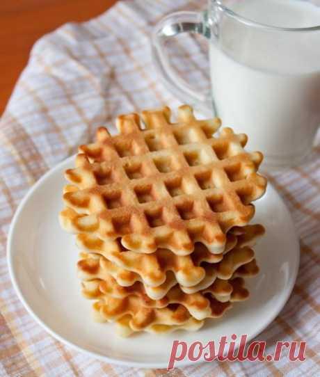 Рецепт вафель из детства 🔥 на Вкусном Блоге