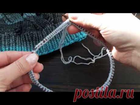 Что нужно знать про соединение вязания в круг