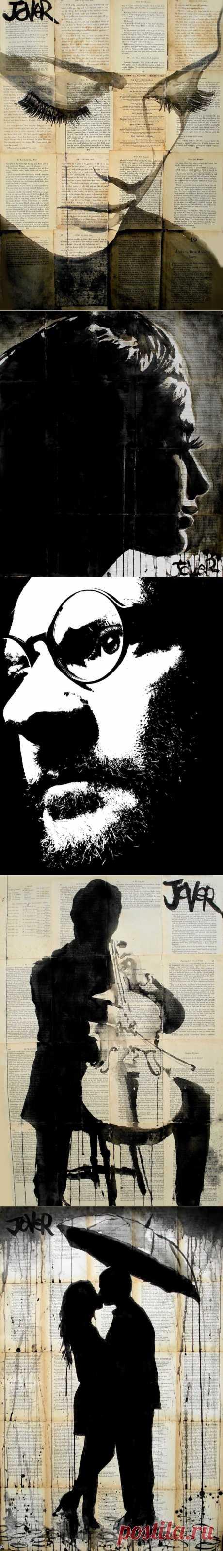 Луи Jover, 1967 ~ Vintage Черное и белое