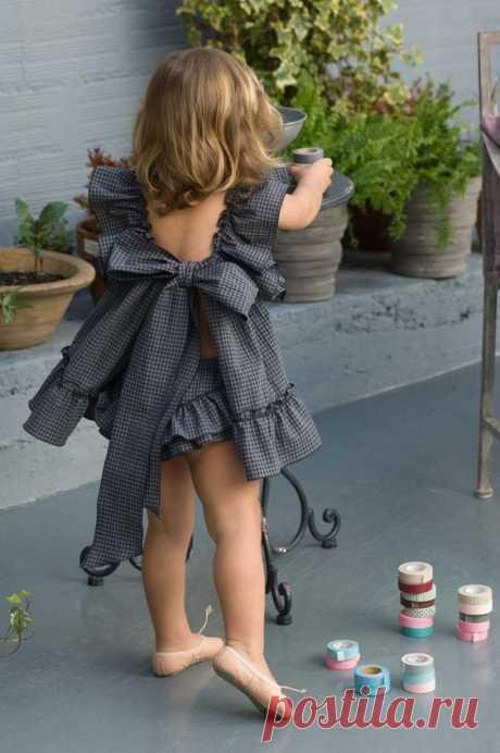 Выкройки детского ретро платья Модная одежда и дизайн интерьера своими руками