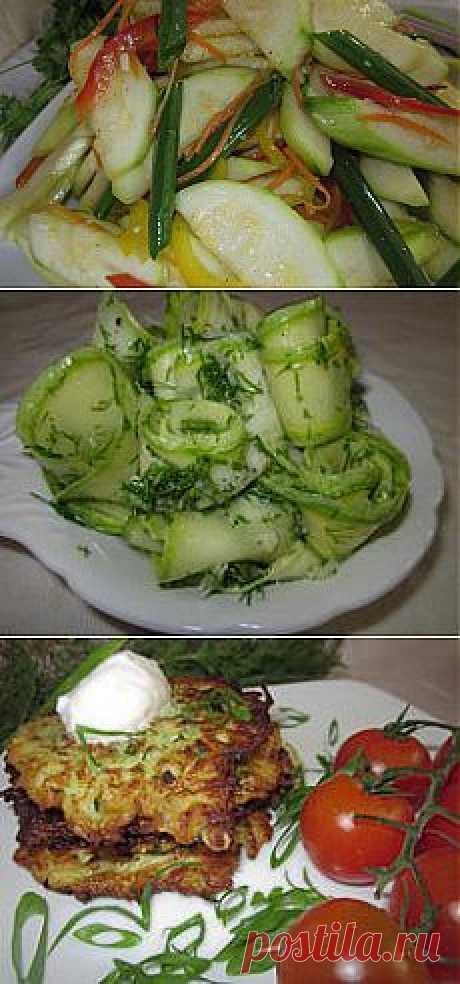 Что приготовить из кабачков? Три простых рецепта | Еда и кулинария