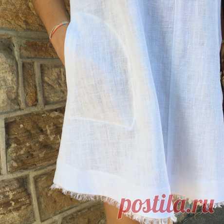 Как сделать бахрому и украсить ей летнее платье — Мастер-классы на BurdaStyle.ru