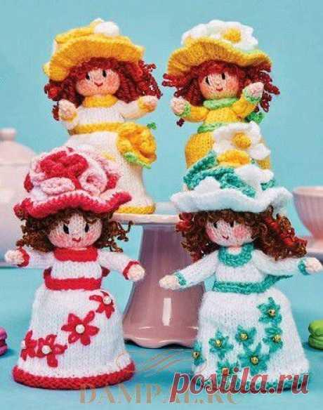 Вязаные куклы «Пирожные с сюрпризом» | DAMские PALьчики. ru