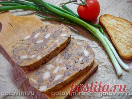 Печень прессованная для бутербродов Прессованная печень - это кусочки печени (куриной, свиной или говяжьей), сдобренные свиным салом и морковью, спрессованы в монолитный брусок, который удобно отрезать пластинами и укладывать на бутерброд...