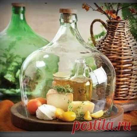 """""""Еще раз о пользе старых бутылок"""" Блог о рукоделии, декоре, кулинарии и путешествиях"""