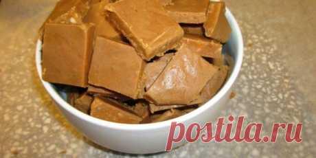 """Сливочные конфеты """"Коровка"""": готовим дома, просто и вкусно"""