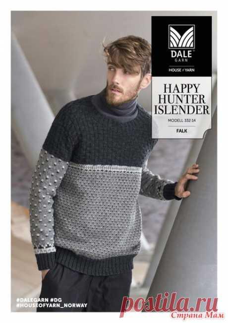 HAPPY HUNTER ISLENDER (свитер) от Dale garn (перевод) - Жаккард - Страна Мам