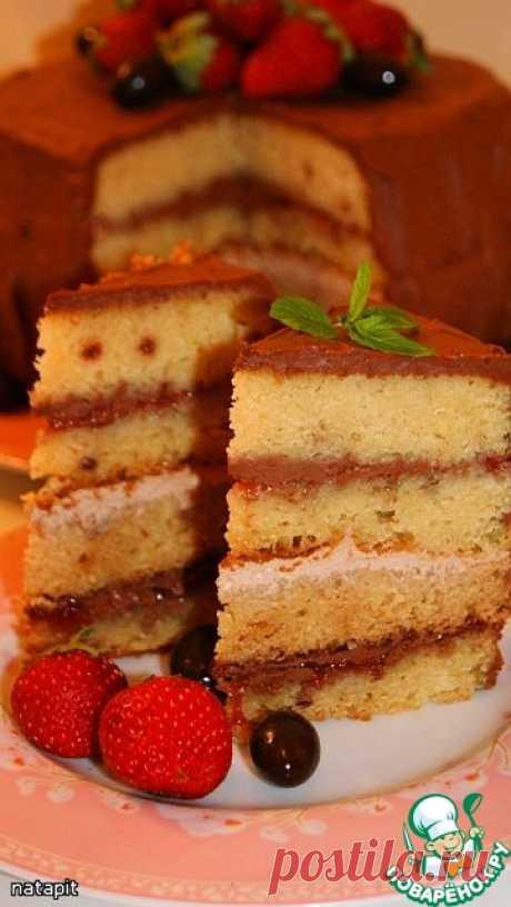 Американский торт.