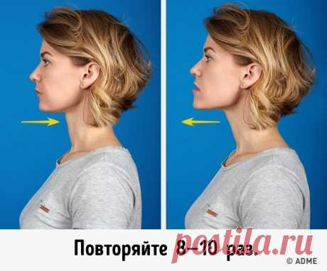 7 most effective exercises to get rid of the second chin