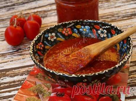 Соус из свежих томатов с базиликом