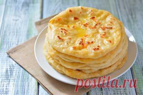 Рецепт хычины с картошкой и сыром от Шефмаркет
