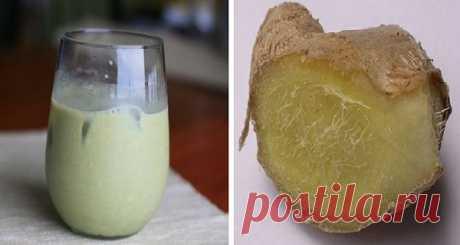 1 чашка в день и 1 см брюшного жира «растает»! Вы будете поражены эффектом от этого напитка!