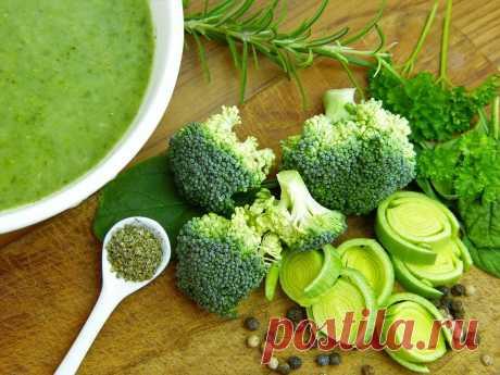 Суп-пюре из брокколи. Мой рецепт. Правильное питания | Викина Кухня | Яндекс Дзен