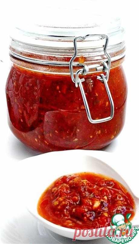 """Универсальный томатный соус """"Сацебели"""" Кулинарный рецепт"""