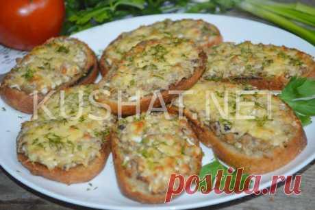 Бутерброды с рыбными консервами. Пошаговый рецепт с фото • Кушать нет