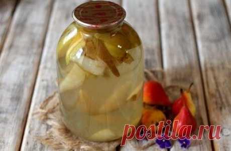 Компот из груш: рецепты на зиму – простой, классический, из целых груш, из диких - Onwomen.ru