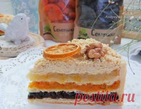 Татарский пирог с тремя начинками. Необычайно вкусный пирог на песочно-дрожжевом тесте с богатой палитрой вкусов: чернослив-курага-лимон.