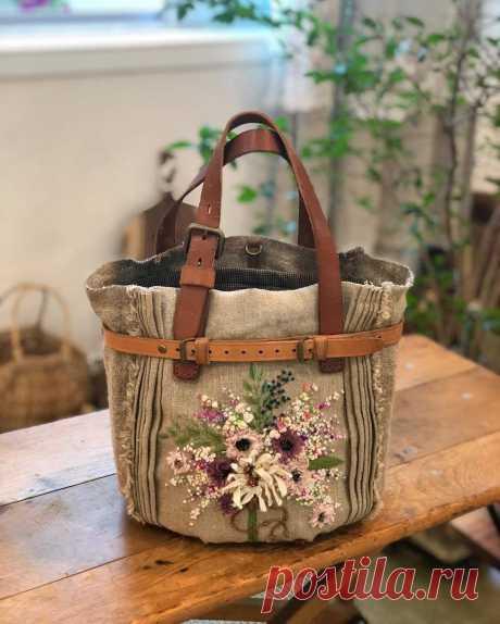 Шикарные сумочки с ручной вышивкой от ATELIER 화양연화