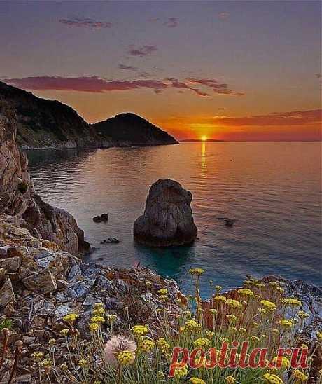 © На острове Эльба, Италия