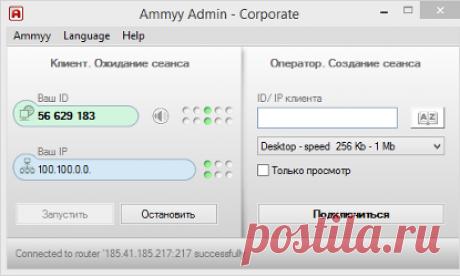 Скачать Ammyy Admin 3.9 бесплатно с официального сайта АмиАдмин