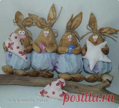 Пасхальные кролики.   Страна Мастеров