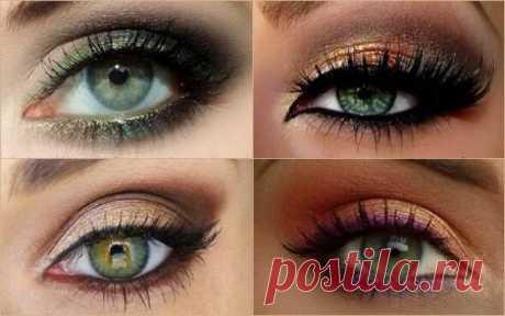 Варианты макияжа для зеленых глаз, которые позволят выглядеть безупречно / Все для женщины