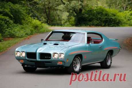 1970 Pontiac GTO The Judge / Только машины