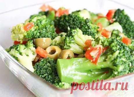 8 лучших салатов из брокколи | Кулинарушка - Вкусные Рецепты