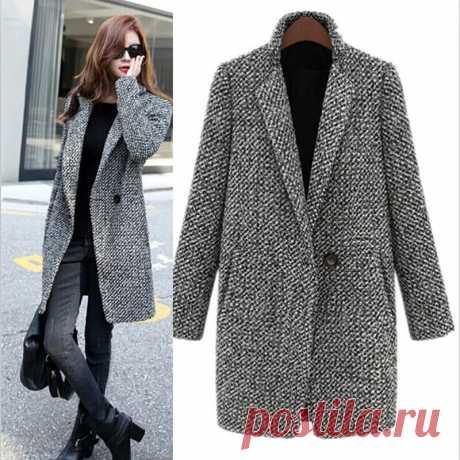 Выкройки женских пальто и шуб : Выкройка пальто-пиджак