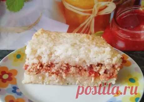 (4) Рисовая запеканка - пошаговый рецепт с фото. Автор рецепта Леся . - Cookpad