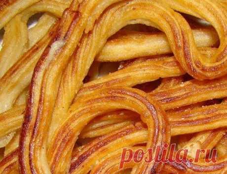 Чуррос (испанское печенье) рецепт – испанская кухня, детское меню: выпечка и десерты. «Еда»
