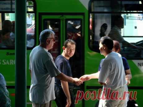 Ташкентские остановки
