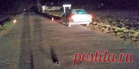 В Вороновском районе мужчина без фликеров лежал на дороге. Его переехал парень на Audi - grodno24.ru